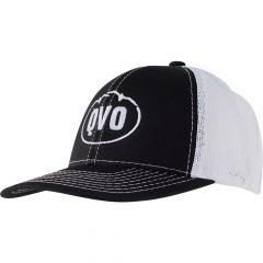 QVO-0212 : Casquette MBW Black White Logo Centre